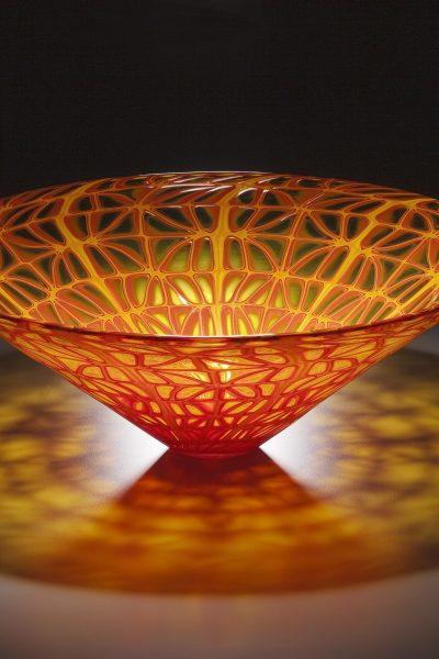 Orange Cone Bowl