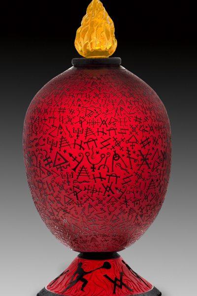 Funeral Urn for an Artist's Ego-McClellan