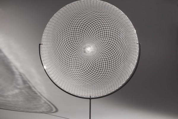 White Reticello Disc