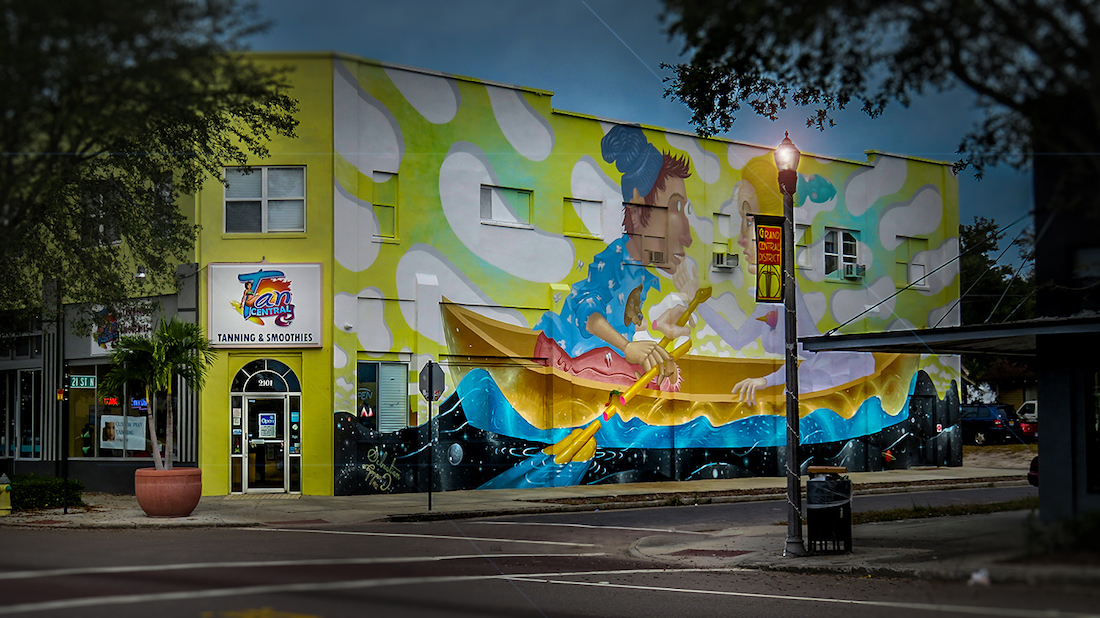 The Warehouse Arts District Brings Art to Life In Saint Petersburg