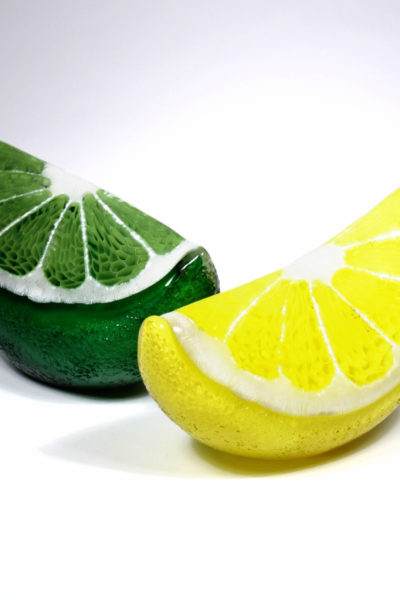 Lemon and Lime Wedge